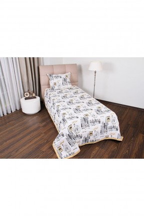 طقم غطاء سرير مفرد / قطعتين /