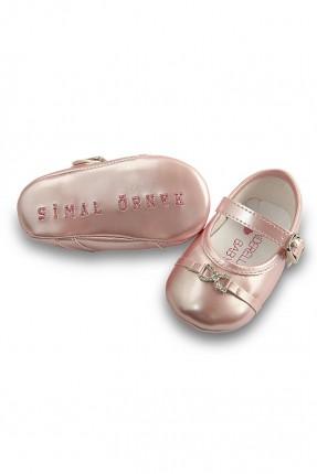 حذاء بيبي بناتي مع بكلة