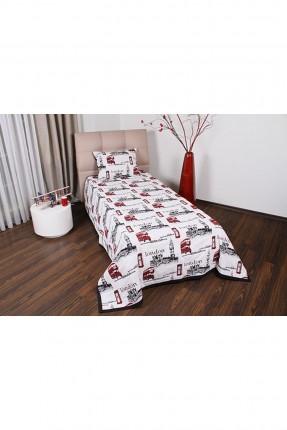 طقم غطاء سرير مفرد رسومات / قطعتين /