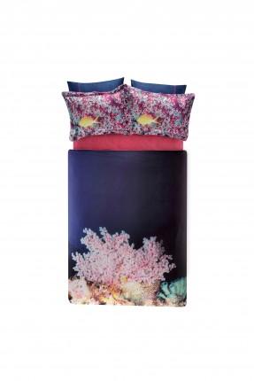 طقم غطاء سرير مزدوج مع رسمة اسماك