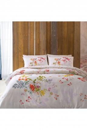 طقم غطاء لحاف سرير مفرد اوراق شجر