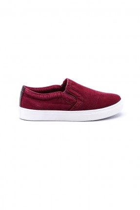 حذاء اطفال - خمري