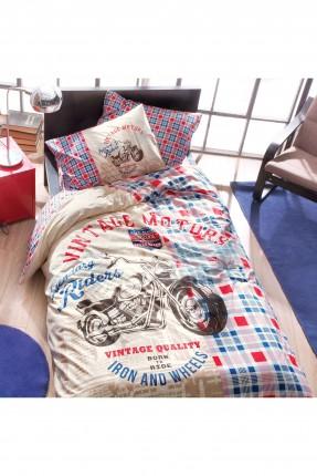 طقم غطاء لحاف سرير اولاد / قطعتين