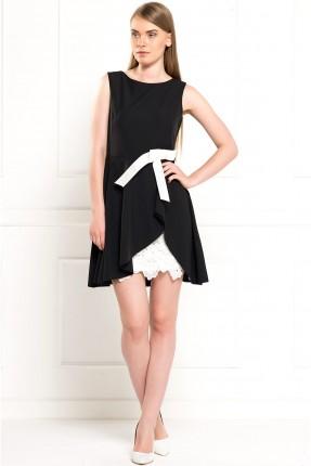 فستان سبور قصير - اسود