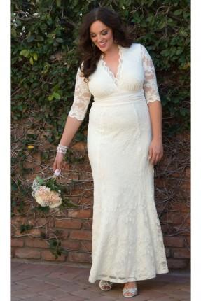 فستان زفاف - ابيض