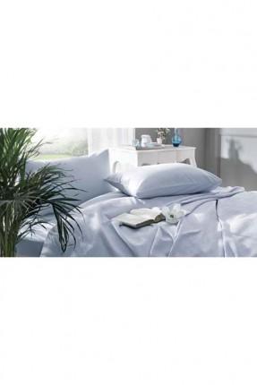 طقم غطاء سرير مزدوج / 3 قطع / ازرق