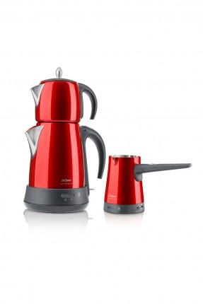 مجموعة غلاية شاي - قهوة