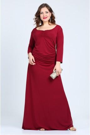 فستان رسمي - خمري