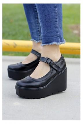 حذاء نسائية كعب عالي متصل