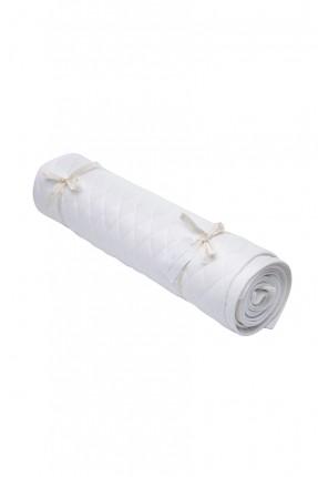 غطاء سرير / 135 * 220 سم / ابيض