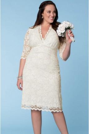 فستان زفاف دانتيل