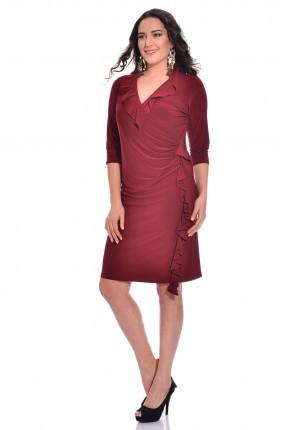 فستان سبور -خمري