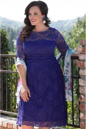 فستان رسمي - ازرق داكن