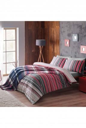 بطانية سرير مفرد مخطط / 180 * 220 سم /