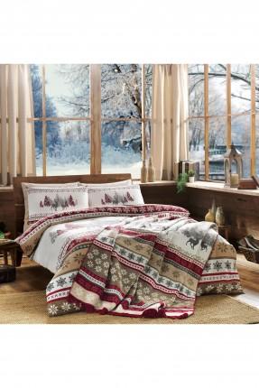 بطانية سرير مفرد برسومات / 180 * 220 سم /