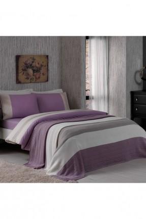 طقم غطاء سرير مفرد مع بطانية / 4 قطع /