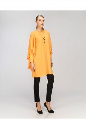بلوزة طويلة - برتقالي