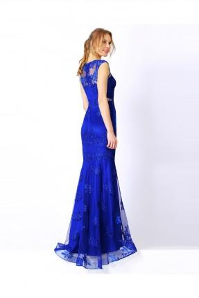 فستان سهرة - ازرق
