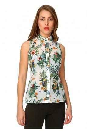 قميص نسائي نص كم