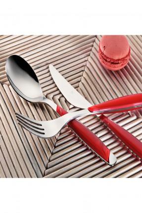 طقم / ملعقة . سكين . شوكة / 30 قطعة - 6 اشخاص