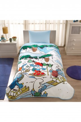 بطانية سرير اطفال / 160 * 220 سم /
