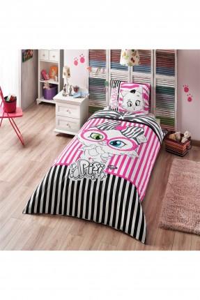 طقم غطاء لحاف مقلم / سرير اطفال