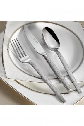 طقم / ملعقة . سكين . شوكة / 89 قطعة - 12 شخص