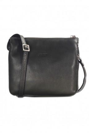 حقيبة نسائية يد جلد - بني