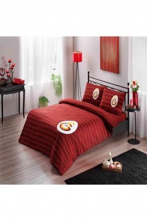 طقم غطاء لحاف مخطط / سرير مزدوج