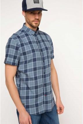 قميص رجالي - كارو