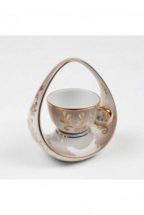 فنجان قهوة مفرد + سلة
