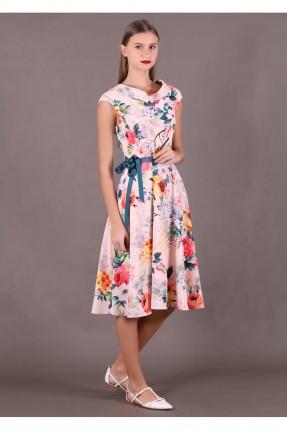 فستان سبور مزخرف بورود