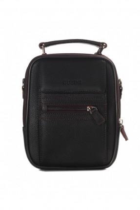 حقيبة يد رجالية جلد - بني