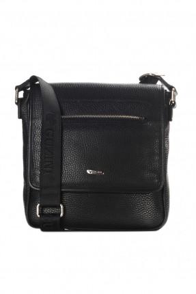 حقيبة يد جلد - اسود