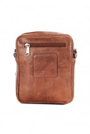 حقيبة يد رجالية - بني
