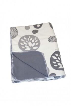 بطانية سرير بيبي / 100 * 150 سم / رمادي