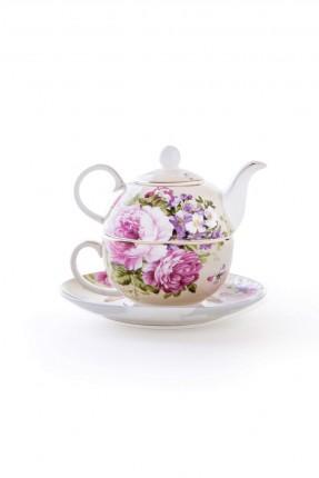 طقم شاي مفرد / 4 قطع /