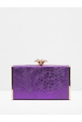 حقيبة يد نسائية - بنفسجية