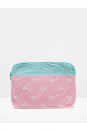 حقيبة نسائية مزهرة