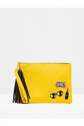 حقيبة نسائية - صفراء