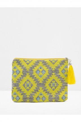 حقيبة يد نسائي - صفراء