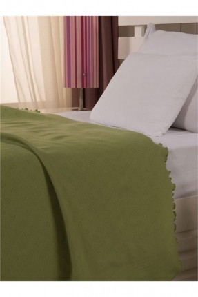 طقم غطاء سرير بيبي / 4 قطع / اخضر