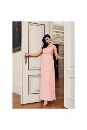 فستان حمل طويل دانتيل - زهر