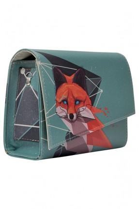 حقيبة نسائية طبعة fox