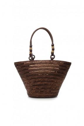 حقيبة يد نسائية سبور - بني