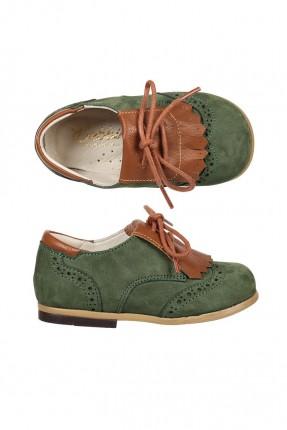 حذاء اطفال بناتي - زيتي