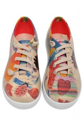 حذاء اطفال مرسوم