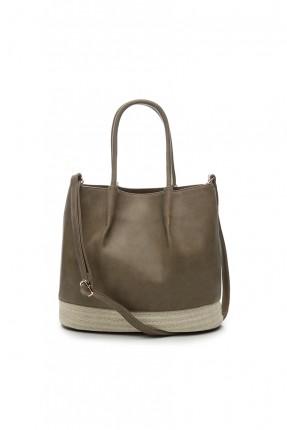 حقيبة يد نسائية - خاكي