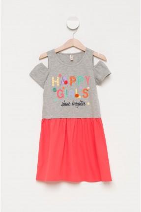 فستان اطفال مع طبعة