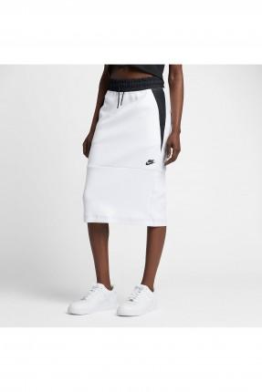 تنورة طويلة رياضية Nike - ابيض